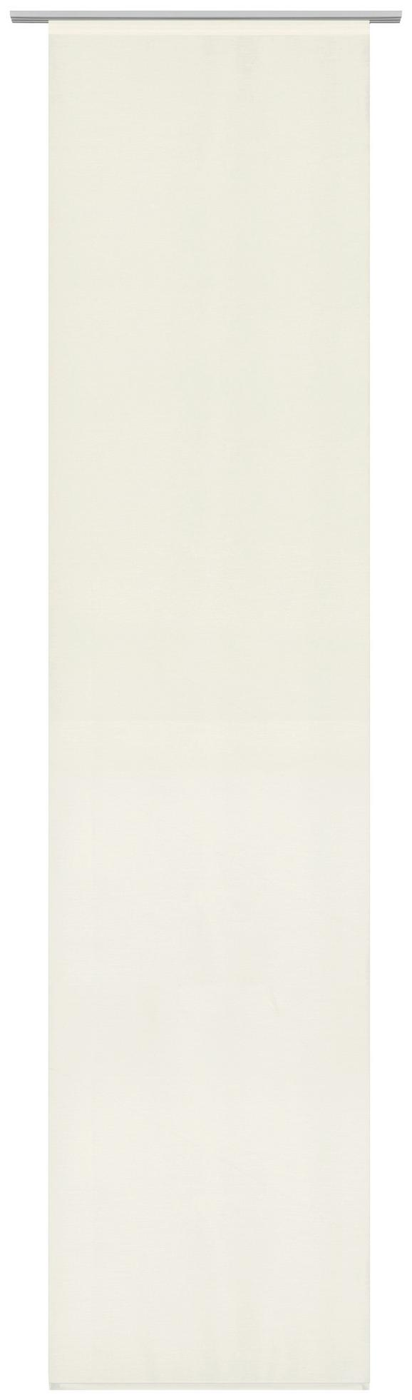 Flächenvorhang Uni Naturfarben 60x245cm - Naturfarben, MODERN, Textil (60/245cm) - Mömax modern living