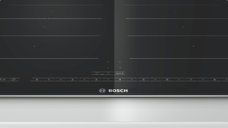 Induktionskochfeld Bosch Piv675n17e, 4 Kochzonen - KONVENTIONELL, Glas/Metall (60,6/5,1/52,7cm) - BOSCH