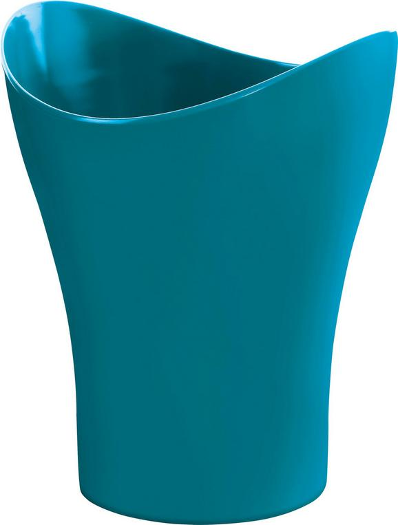Kozmetikai Szemetes Bella - petrol, konvencionális, műanyag (23,47/27,86cm) - MÖMAX modern living