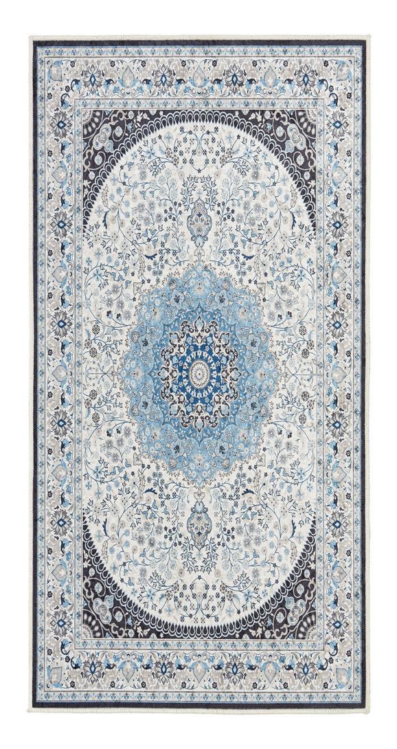 Tuftteppich Levka Blau 60x120cm - Blau, Textil (60/120cm) - Mömax modern living