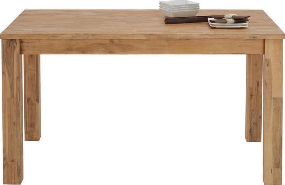 Jedilna Miza Aruba - akacija, Konvencionalno, les (140/76/85cm) - Zandiara
