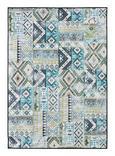 Tuftteppich Kashi Blau/grün 160x230cm - Blau/Grün, Textil (160/230cm) - Mömax modern living