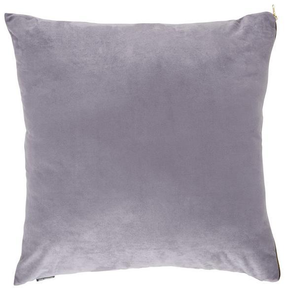Zierkissen Zoe in Anthrazit, ca. 60x60cm - Anthrazit, MODERN, Textil (60/60cm) - Premium Living