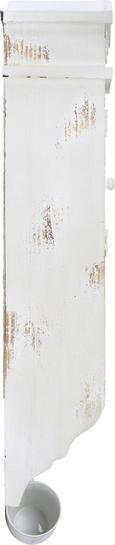Geschirrschrank Andreas - Hellgrau/Weiß, Glas/Holz (43/16/75cm) - premium living