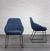 Stuhl Vivian - Schwarz/Dunkelblau, MODERN, Holz/Textil (58,5/83,5/61cm) - Mömax modern living