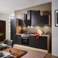 Kuhinjski Blok Milano - hrast/antracit, Moderno, leseni material (220cm)