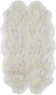 Schaffell Eskimo Weiß 80x130cm - Weiß, ROMANTIK / LANDHAUS, Weitere Naturmaterialien (80/130cm) - Mömax modern living