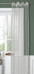 Ösenschal Astrid Weiß ca. 140x245cm - Weiß, MODERN, Textil (140/245cm) - Mömax modern living