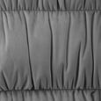 Armlehnstuhl in Hellgrau 'Jan' - Buchefarben/Hellgrau, MODERN, Holz/Textil (65/59/86cm) - Bessagi Home