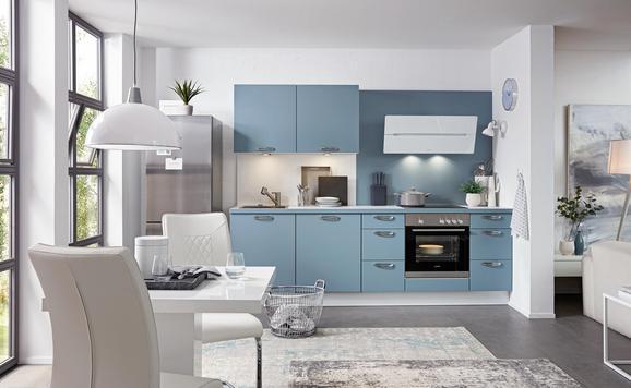 Küchenblock Touch Aqua - (260cm)