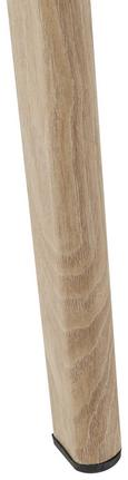 Couchtisch Kimi ca.90x60cm - Buchefarben/Grau, MODERN, Holz/Metall (60/90/44,5cm) - Mömax modern living