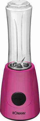 Shake-mixer Colour in Pink - Pink, Kunststoff (13,0/37,0/12,5cm) - Bomann