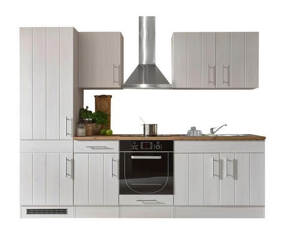 Kuhinjski Blok Landhaus - bela, Moderno, leseni material (270/212/60cm) - Mömax modern living