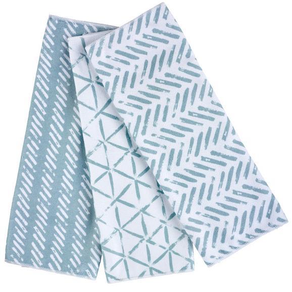 Set Krpa Za Posuđe Mike -ext- - siva/tamno plava, Modern, tekstil (40/60cm) - Mömax modern living