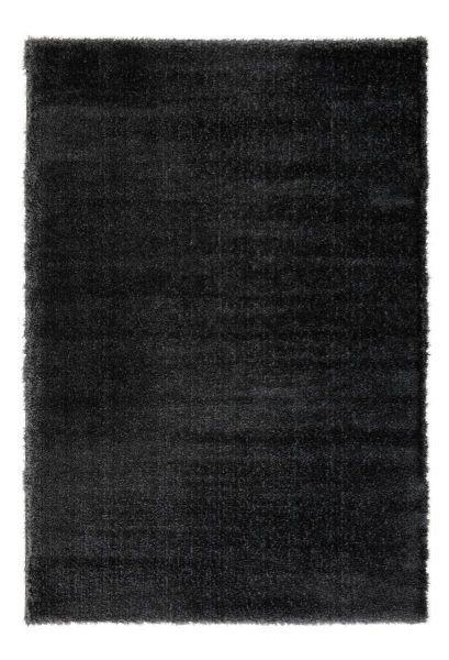 Hochflorteppich Florenz ca. 120x170cm - Schwarz, MODERN, Textil (120/170cm) - MÖMAX modern living