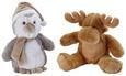 Plüschtier Frosty verschiedene Designs - Beige/Braun, Textil (30cm) - Mömax modern living