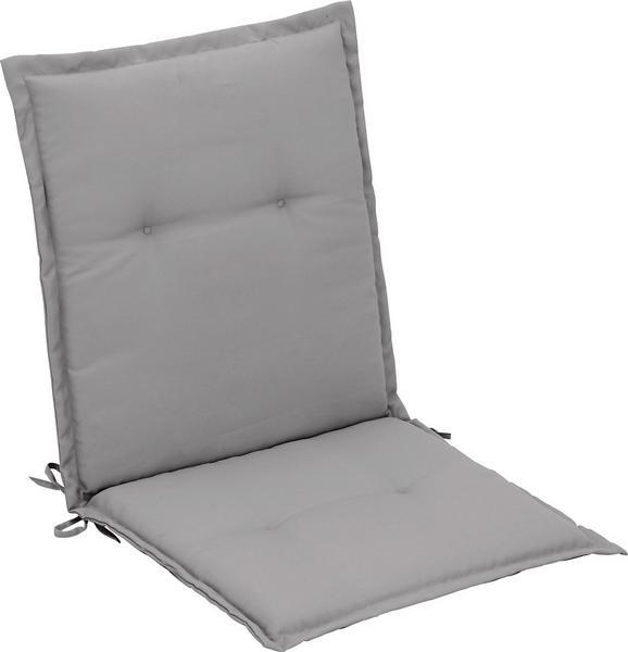 Sesselauflage Poppi Hellgrau - Hellgrau, Textil (48/96/48cm) - MÖMAX modern living