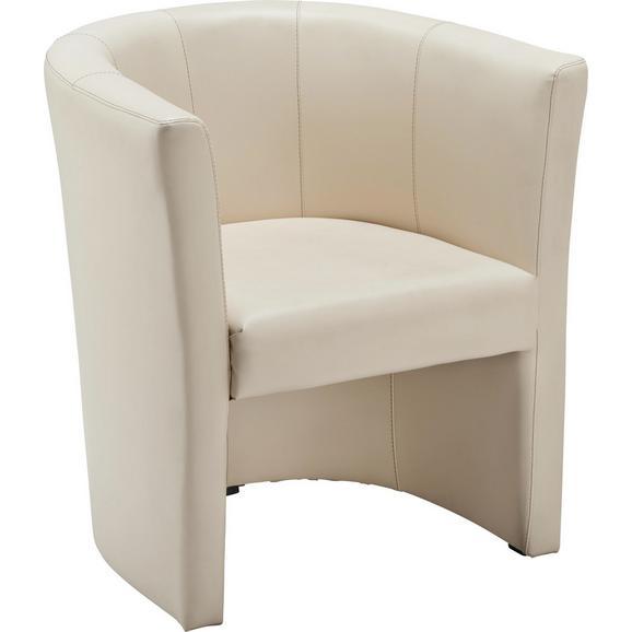 Sessel in Beige - Beige/Schwarz, LIFESTYLE, Kunststoff/Textil (54/72/63cm) - Mömax modern living