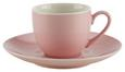 Espressotasse mit Untertasse Sandy in Rosa Keramik ca. 90ml - Rosa, KONVENTIONELL, Keramik (6,4/5/cm) - Mömax modern living