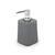 Seifenspender Lilo aus Kunststoff in Grau - Grau, MODERN, Kunststoff (8,38/8,38/16,38cm) - Mömax modern living
