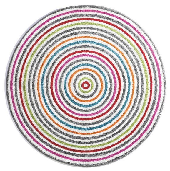 Kinderteppich Lollipop Bunt Ø ca. 160cm - Multicolor, Kunststoff/Textil (160cm) - Mömax modern living