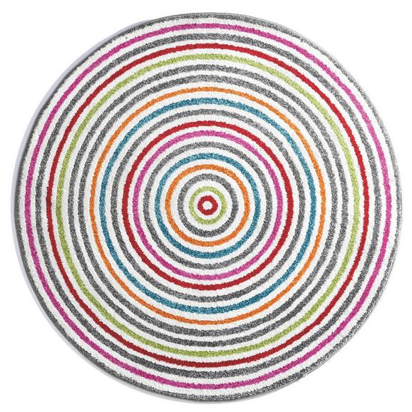Kinderteppich Lollipop Bunt  Ø ca. 80cm - Multicolor, Textil (80cm) - Mömax modern living