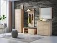 Garderobni Panel Danilo - bukev, Moderno, leseni material (80/145/30cm) - Mömax modern living