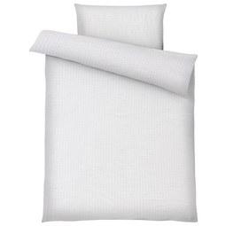 Bettwäsche Brigitte Weiß 140x200cm - Weiß, KONVENTIONELL, Textil - Mömax modern living