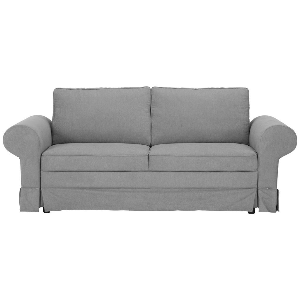 Dreisitzer-Sofa in Grau