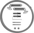 Seilspanngarnitur Valentina - Edelstahlfarben, Metall (500cm)