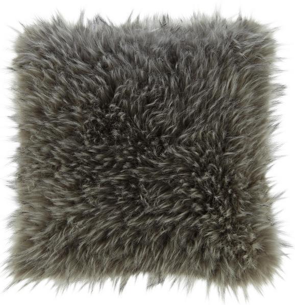 Fellkissen Nila ca.45x45cm - Grau, MODERN, Textil (45/45cm) - Mömax modern living