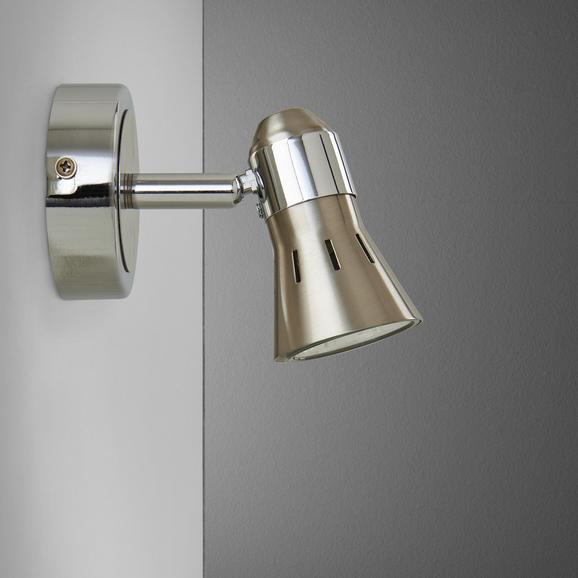 Strahler Harvey - Chromfarben/Nickelfarben, MODERN, Metall (8/14/10cm) - Mömax modern living