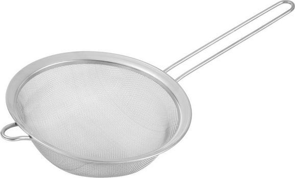 Küchensieb Matti aus Edelstahl - Edelstahlfarben, Metall (20cm) - Mömax modern living