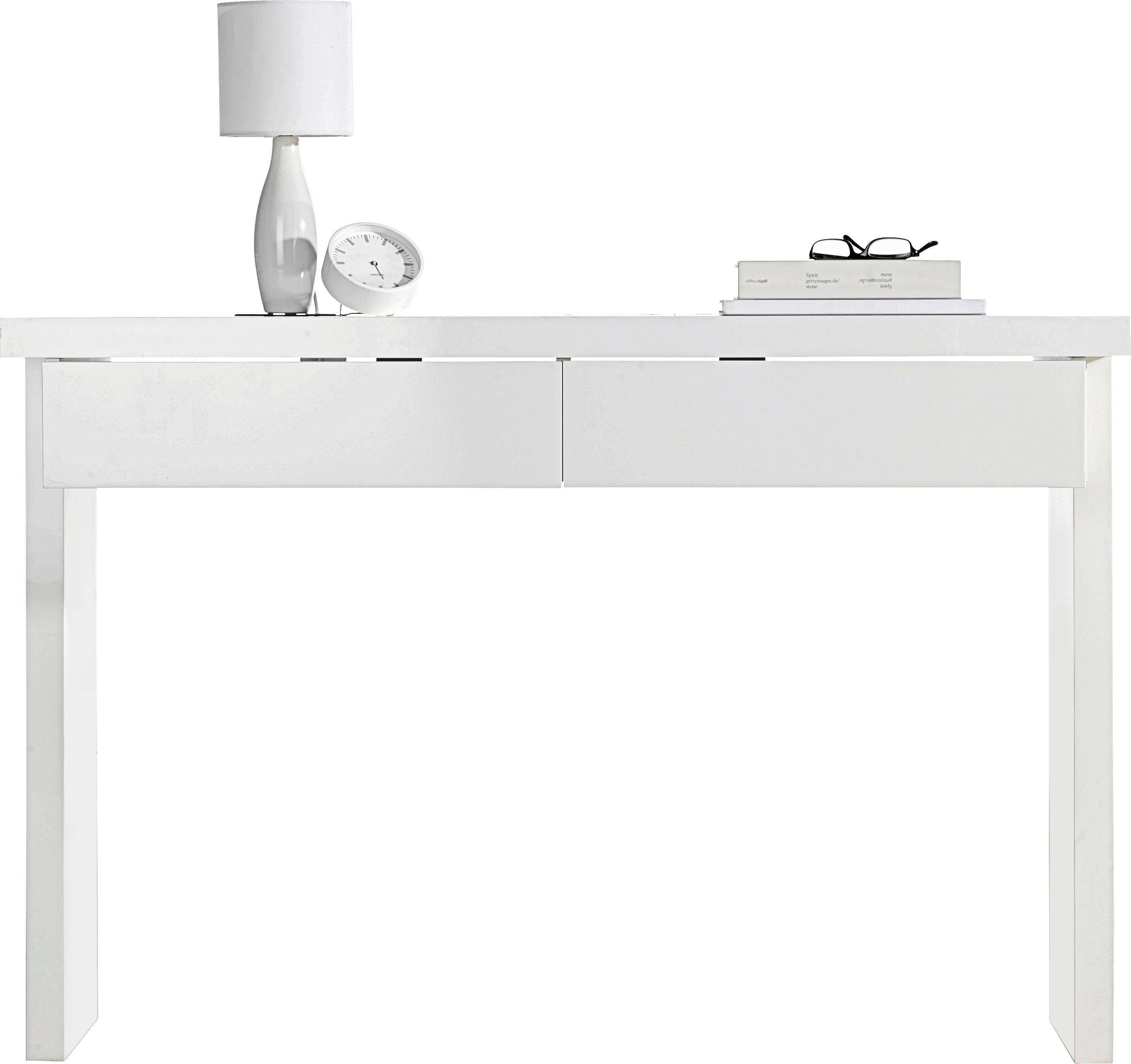 konsolentisch wei hochglanz online kaufen m max. Black Bedroom Furniture Sets. Home Design Ideas