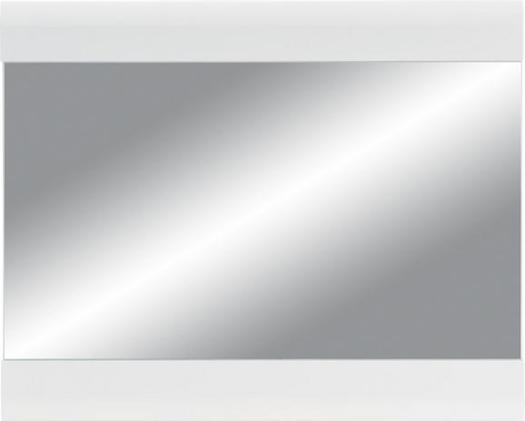 Wandspiegel in Weiß, ca. 85x69x2cm - Weiß, MODERN, Glas/Holzwerkstoff (85/69/2cm) - MÖMAX modern living