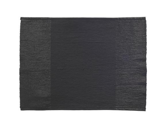 Tischset Brando in Schwarz - Schwarz, LIFESTYLE, Textil (33/45cm)