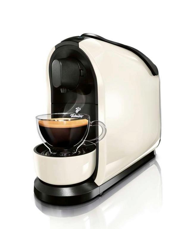 Kávéfőző Tchibo Cafissimo Pure - Fehér, Műanyag (15,4/27,2/36cm)