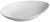 Servierplatte Nele aus Steinzeug in Weiß - Weiß, MODERN, Keramik (25,3/16/3,8cm) - Premium Living