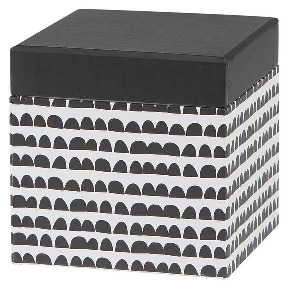 Cutie Pentru Cadouri Square - alb/negru, Modern, carton/hârtie (10/10/10cm) - modern living