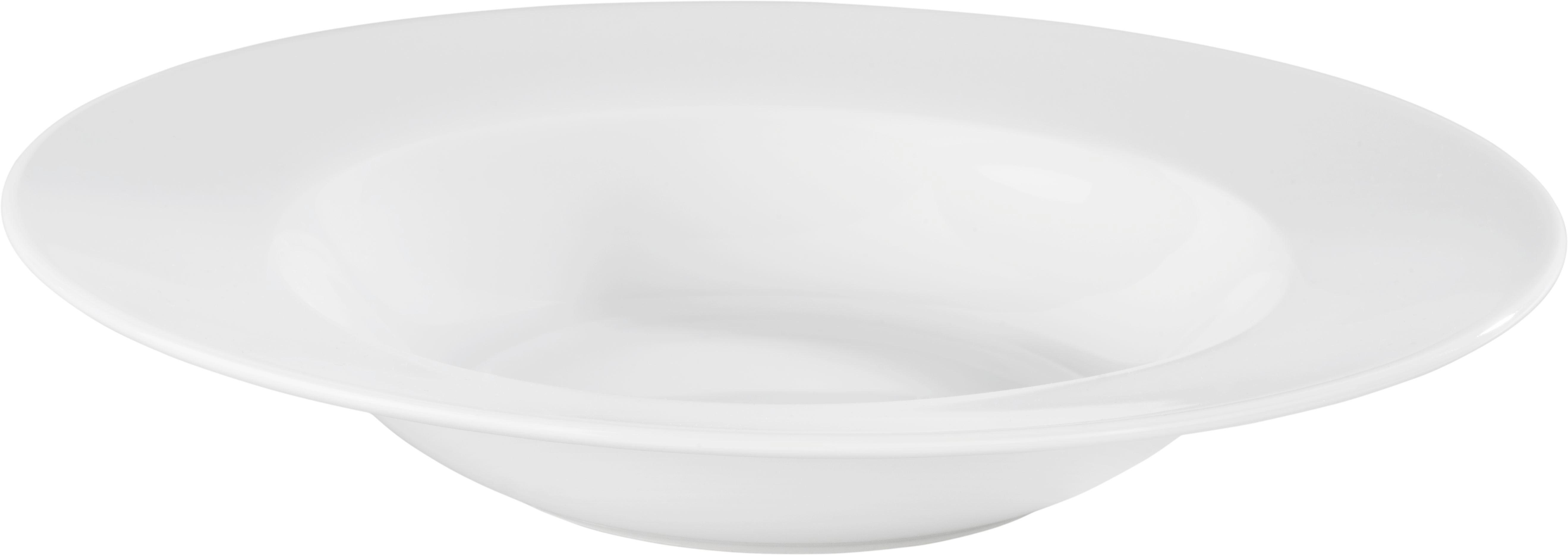 Globoki Krožnik Adria - bela, Konvencionalno, keramika (21,5cm) - MÖMAX modern living