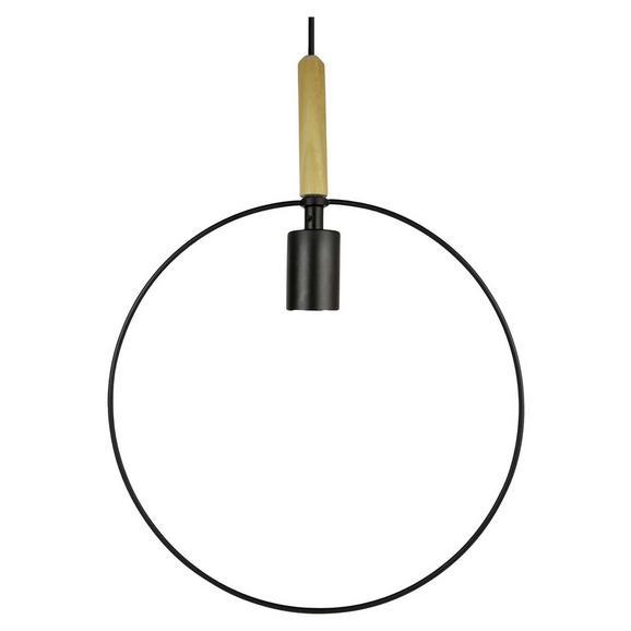 Hängeleuchte Foggia, max. 60 Watt - Schwarz, MODERN, Metall (33/143cm) - Mömax modern living