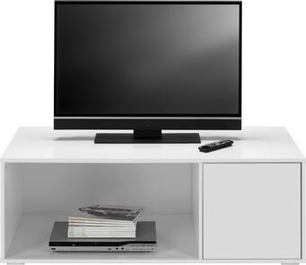 TV-Element Basic - Weiß, MODERN, Holz (120/43,5/60cm) - Mömax modern living