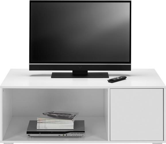 TV-möbel Basic - Weiß, MODERN, Holz (120/43,5/60cm) - Mömax modern living