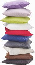 Față De Pernă Gitter-based- - Alb/Galben, Material textil (40/40cm) - BASED