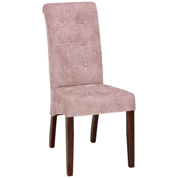 Stuhl in Creme - Altrosa, ROMANTIK / LANDHAUS, Holz (48/102/50cm) - Zandiara