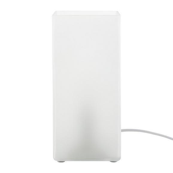 Tischleuchte Beni, max. 40 Watt - Weiß, MODERN, Glas (10/22/10cm) - Based