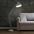 Stehleuchte max. 60 Watt 'Tiago' - Grau, MODERN, Metall (30/105/187cm) - Bessagi Home