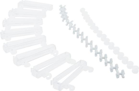 Függönycsúszka Bernd - Átlátszó, Műanyag (6/0.7/1.6cm) - Mömax modern living