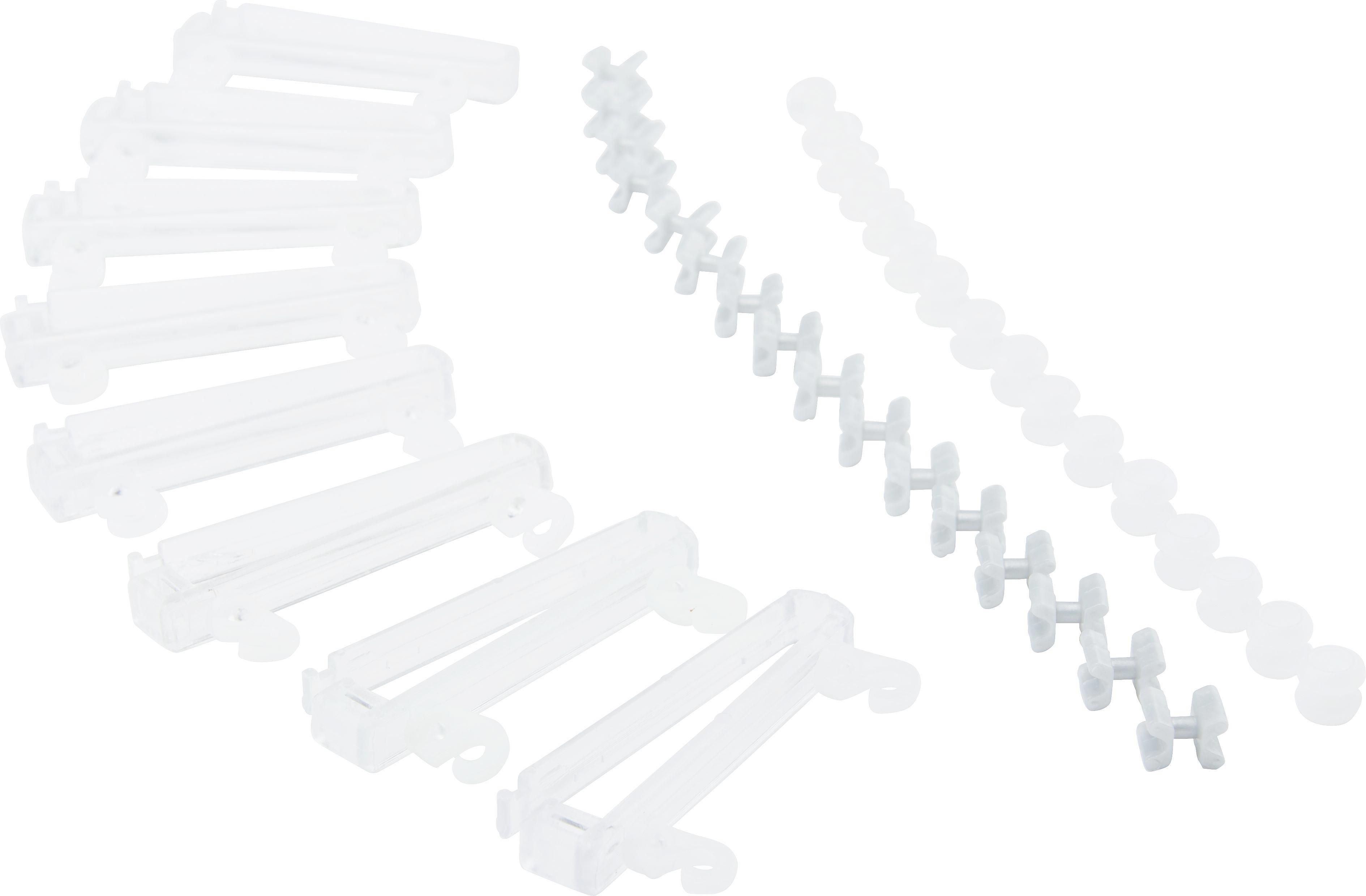 Függönycsúszka Bernd - tiszta, műanyag (6/0.7/1.6cm) - MÖMAX modern living