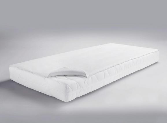 Matratzenauflage in Weiß, ca. 100x200cm - Weiß, Textil (100/200cm) - MÖMAX modern living